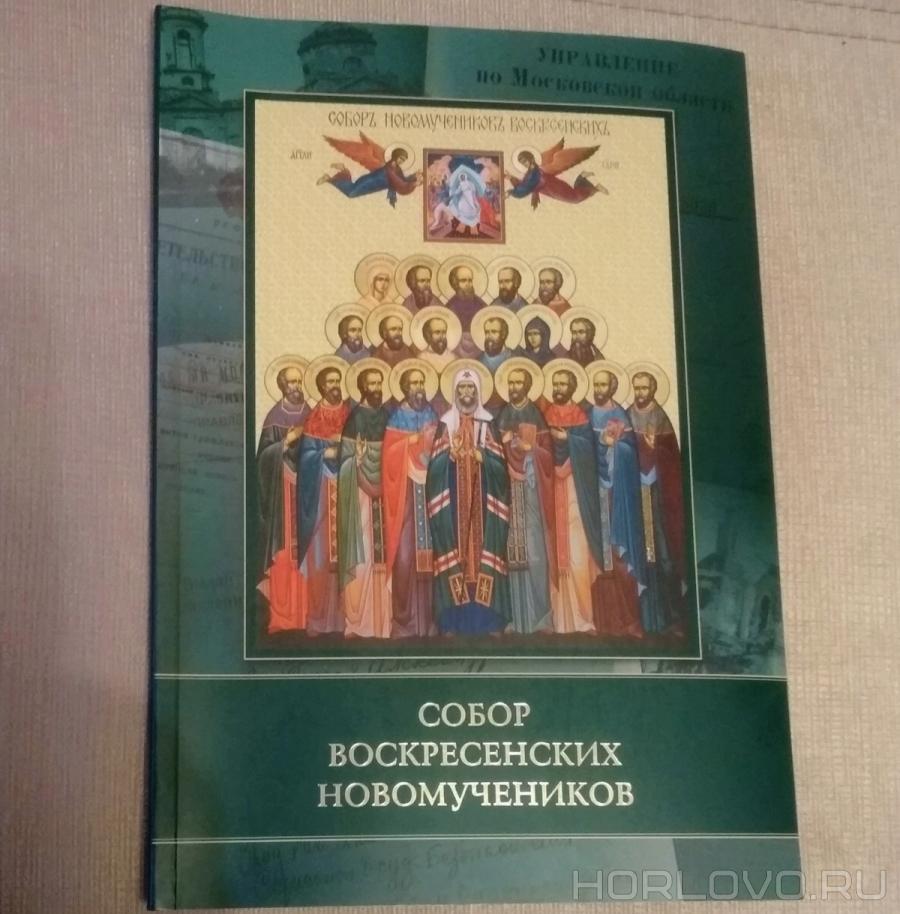 Книга «Собор воскресенских новомучеников»